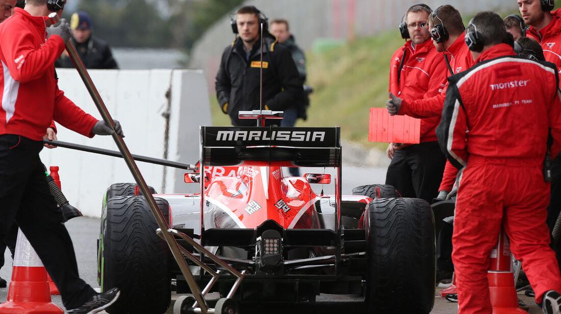 Max Chilton, Marussia, Formel 1-Test, Barcelona, 01. März 2013