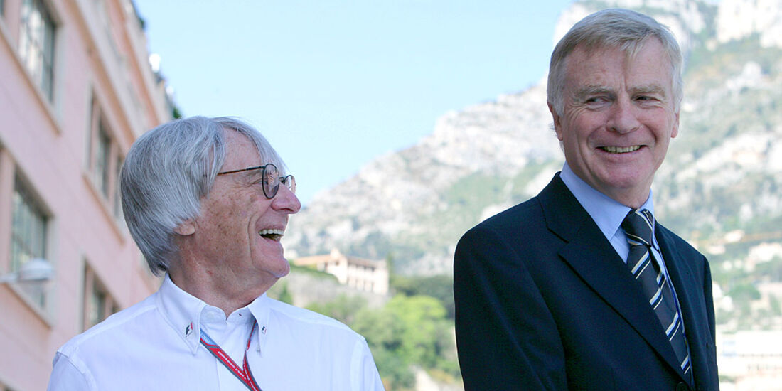 Max Mosley und Bernie Ecclestone