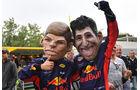 Max Verstappen & Daniel Ricciardo - Red Bull - Formel 1 - GP Spanien - Barcelona - 12. Mai 2018