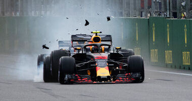 Max Verstappen - Daniel Ricciaro - GP Aserbaidschan 2018 - Baku