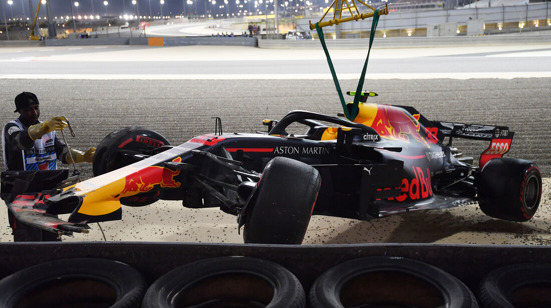 Max Verstappen - Red Bull - Formel 1 - GP Bahrain - 7. April 2018
