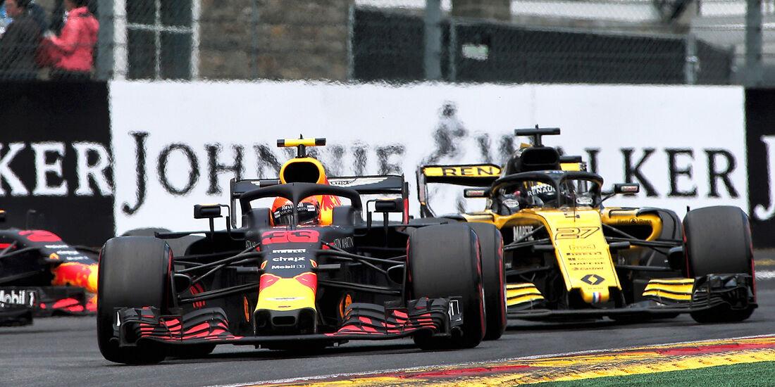 Max Verstappen - Red Bull - Formel 1 - GP Belgien - Spa-Francorchamps - 25. August 2018