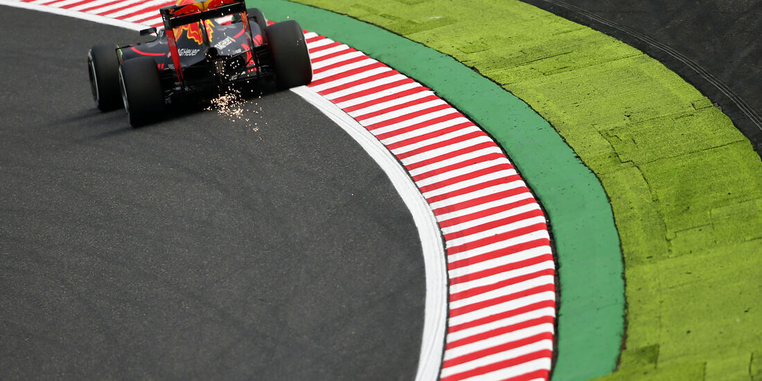 Max Verstappen - Red Bull - Formel 1 - GP Japan - Suzuka - Freitag - 7.10.2016
