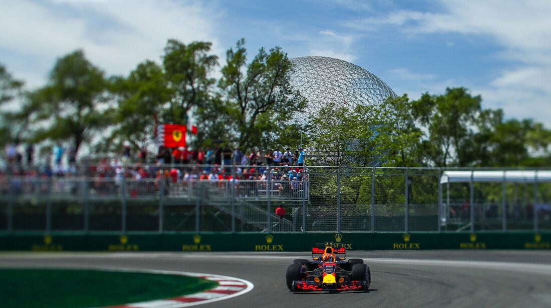 Max Verstappen - Red Bull - Formel 1 - GP Kanada - Montreal - 10. Juni 2017
