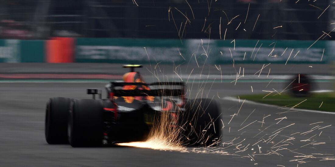 Max Verstappen - Red Bull - Formel 1 - GP Mexiko - 27. Oktober 2018