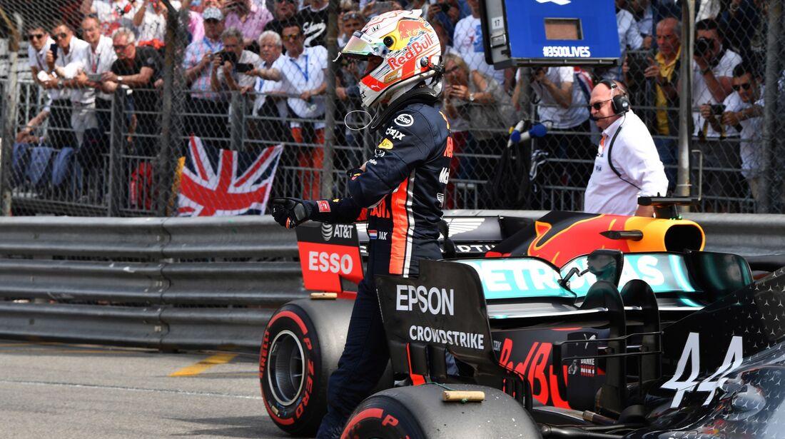 Max Verstappen - Red Bull - Formel 1 - GP Monaco - 25. Mai 2019