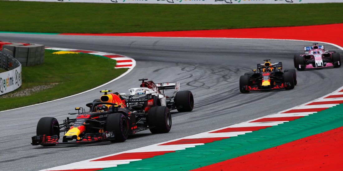 Max Verstappen - Red Bull - Formel 1 - GP Österreich - 29. Juni 2018