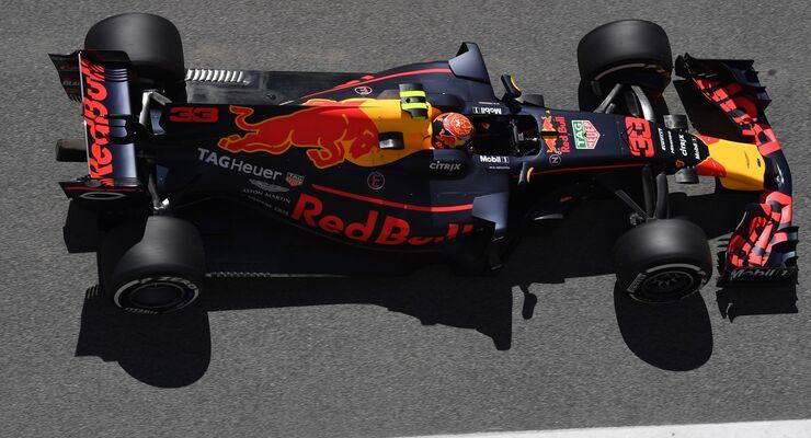Max Verstappen - Red Bull - Formel 1 - GP Spanien - 12. Mai 2017