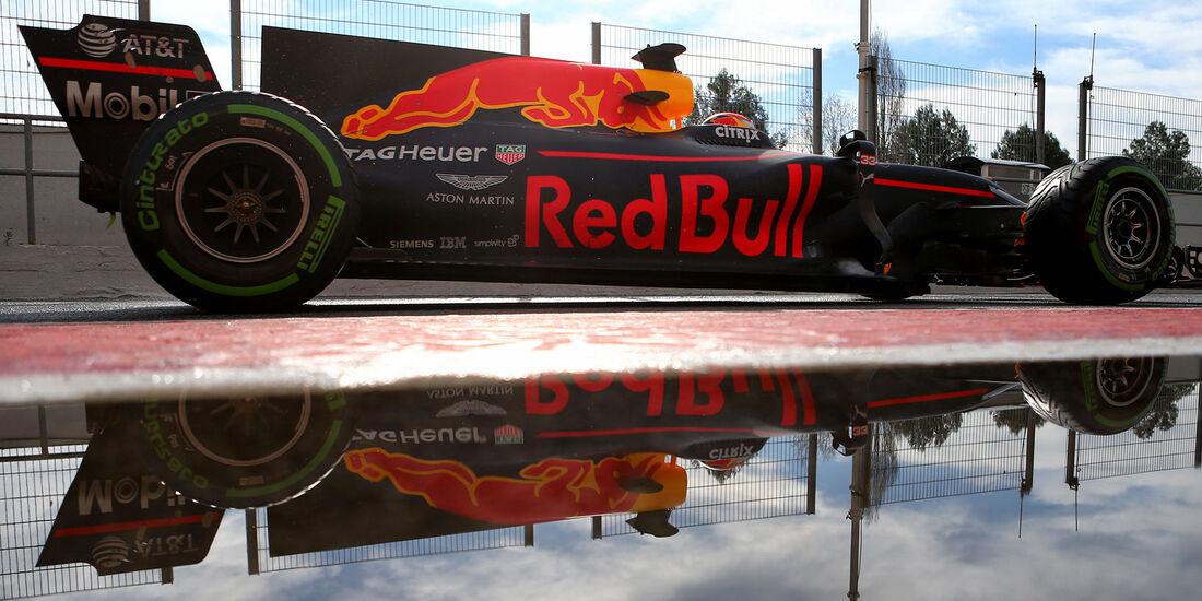 Max Verstappen - Red Bull - Formel 1 - Test - Barcelona - 2. März 2017