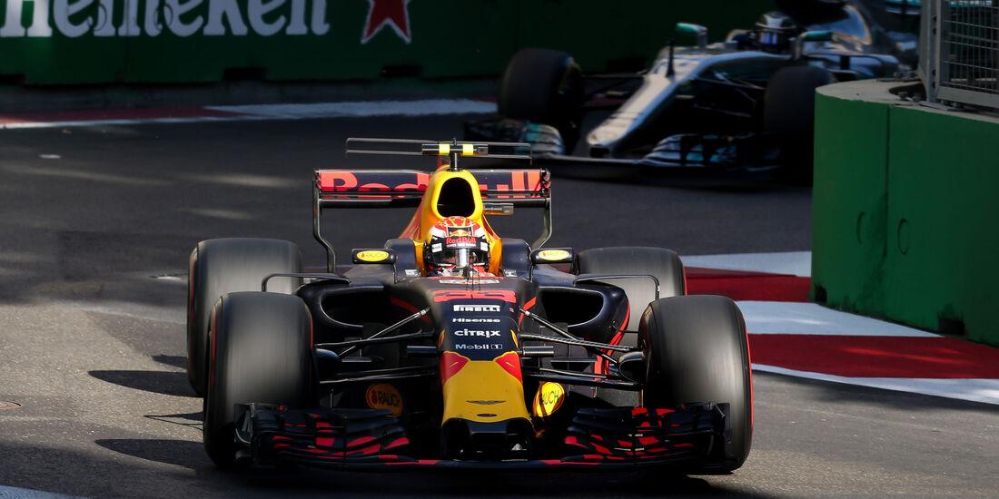 Max Verstappen - Red Bull - GP Aserbaidschan 2017 - Baku - Rennen