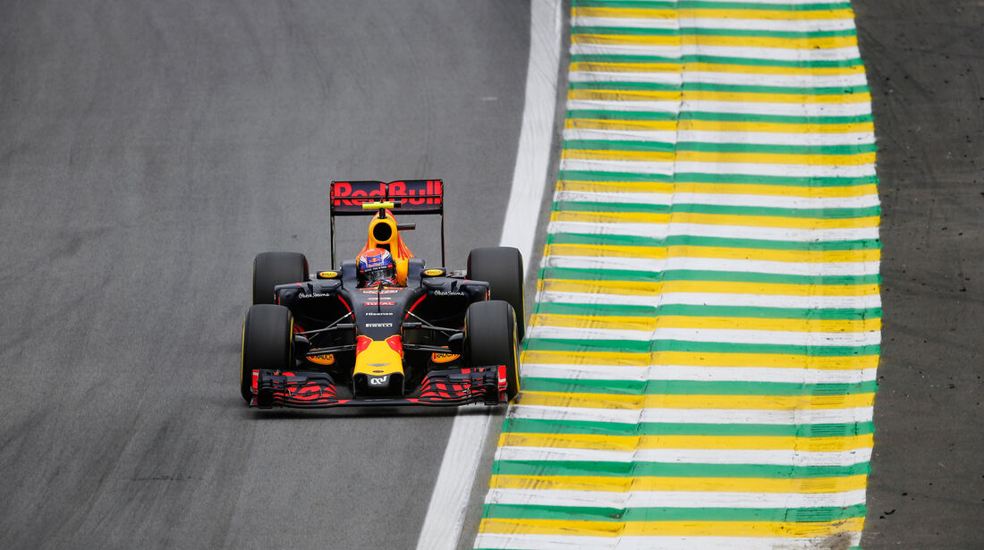Max Verstappen - Red Bull - GP Brasilien 2016 - Interlagos - Qualifying