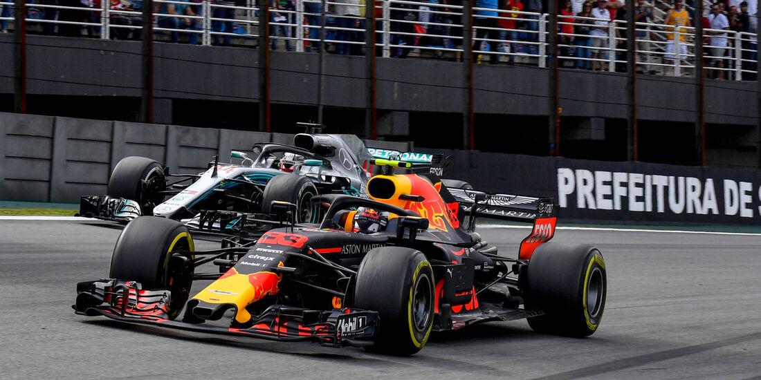 Max Verstappen - Red Bull - GP Brasilien 2018
