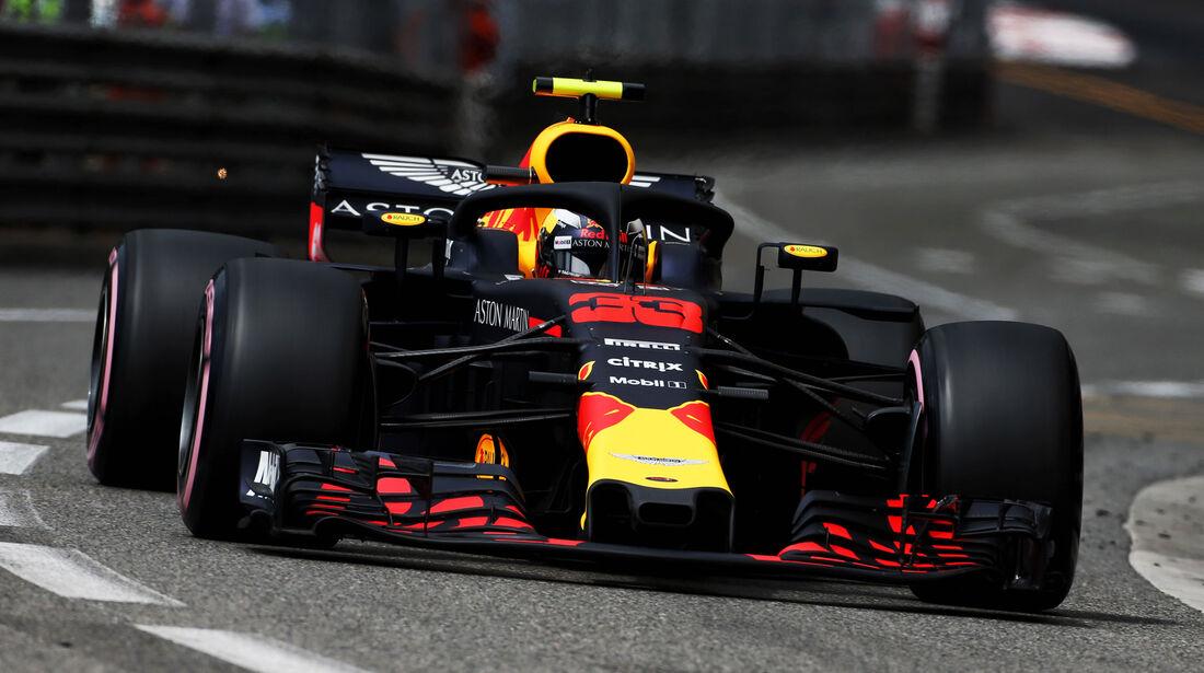 Max Verstappen - Red Bull - GP Monaco - Formel 1 - Donnerstag - 24.5.2018