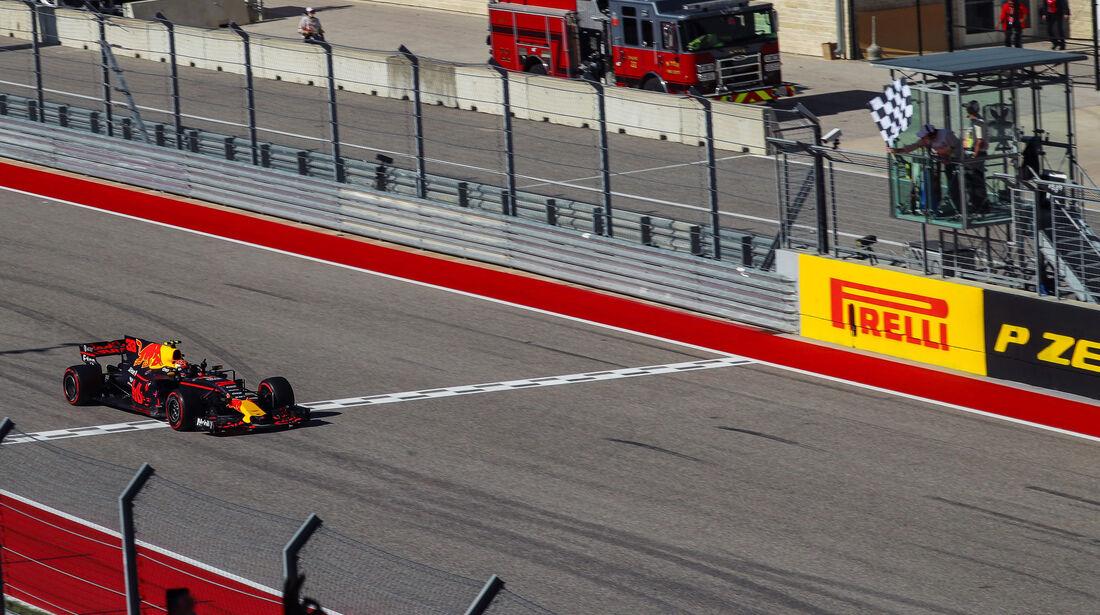 Max Verstappen - Red Bull - GP USA 2017 - Rennen