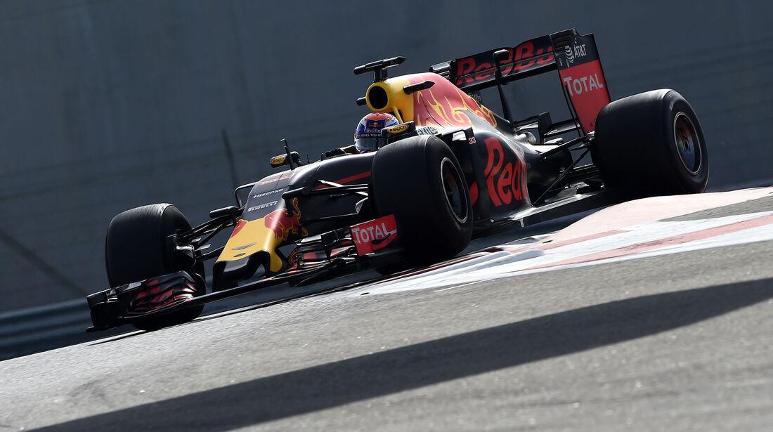 Max Verstappen - Red Bull - Pirelli-Test - Abu Dhabi