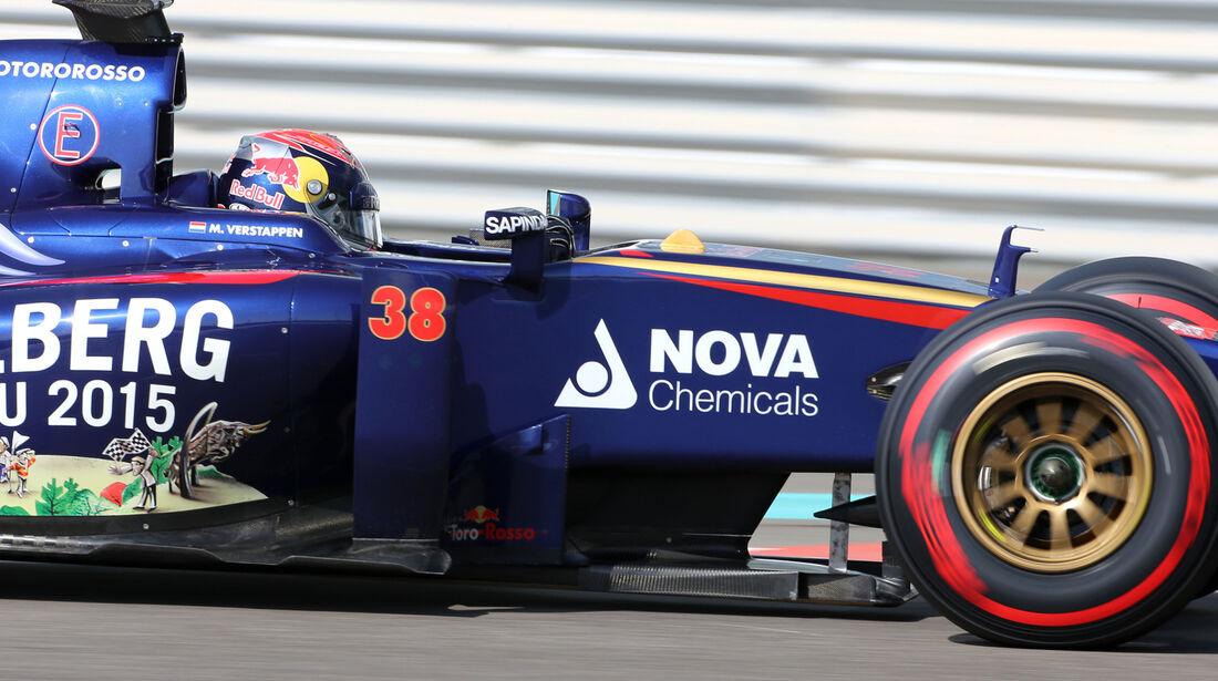 Max Verstappen - Toro Rosso - Formel 1 - Test - Abu Dhabi - 26. November 2014