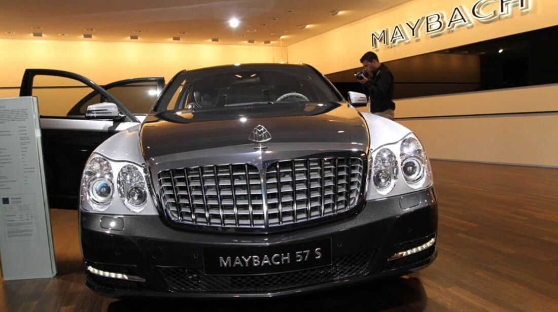 Maybach 57S Edition 125 IAA