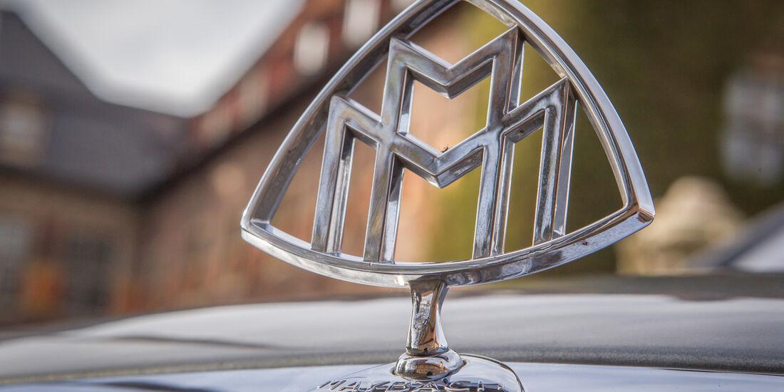 Maybach 62, Emblem, Kühlerfigur