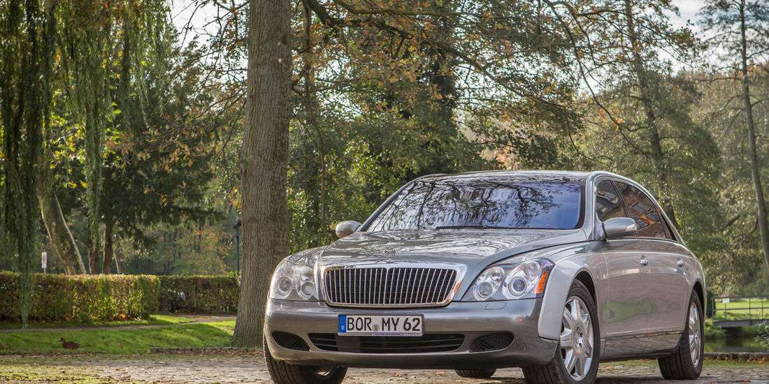 Maybach 62, Frontansicht