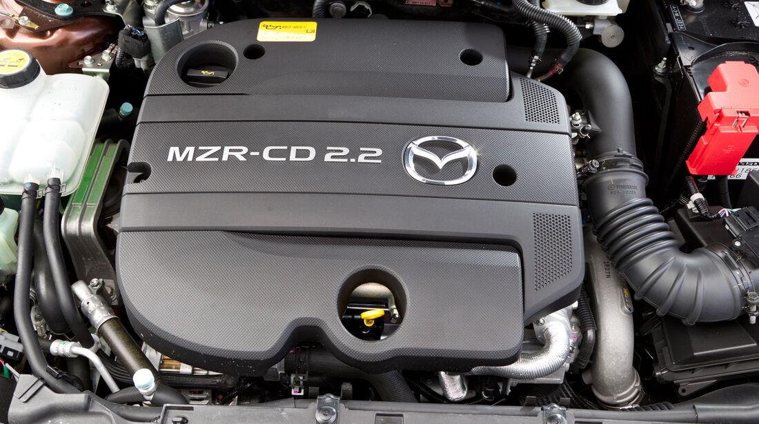 Mazda 3 2.2 MRZ-CD, Motor