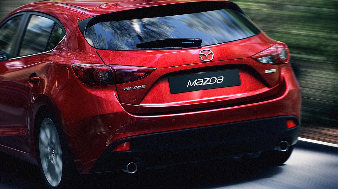 Mazda 3, 2013 Weltpremiere, Heck