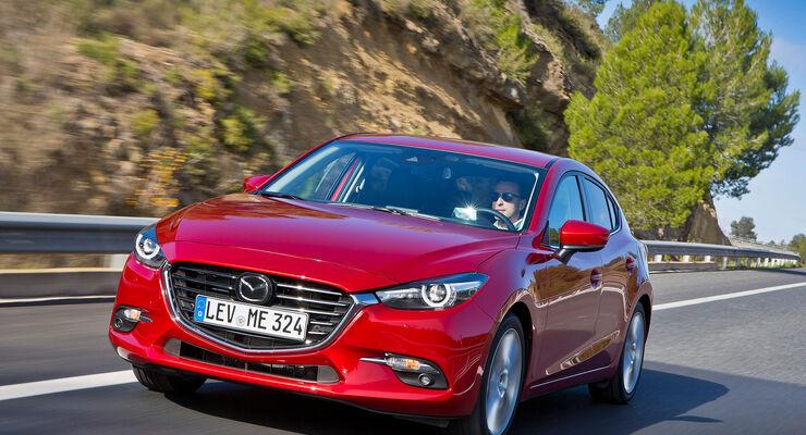 mazda 3 (2017): fahrbericht zeigt, was das facelift bringt - auto