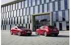 Mazda 3 Diesel vorn und hinten stehend