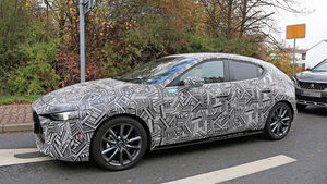 Mazda 3 Erlkönig