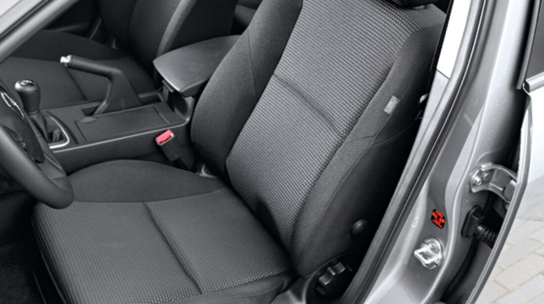 Mazda 3, Fahrersitz