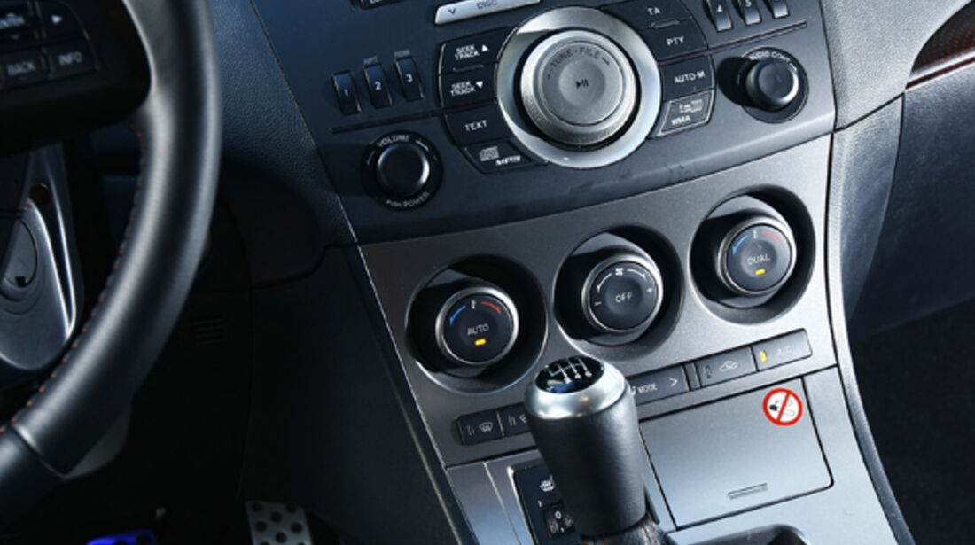 Mazda 3 MPS, Detail, Innenraum, Schaltknauf