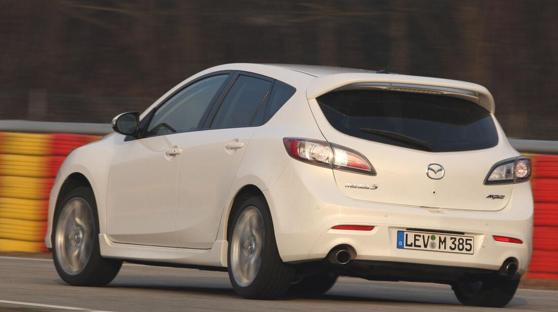 Mazda 3 MPS, Heckansicht