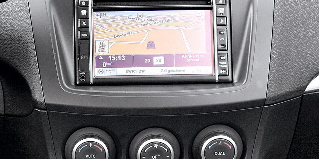 Mazda 3, Navigationssystem