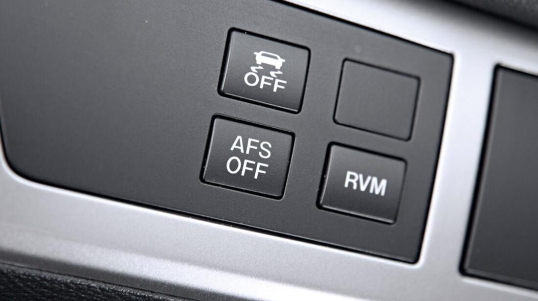 Mazda 3, Schalter