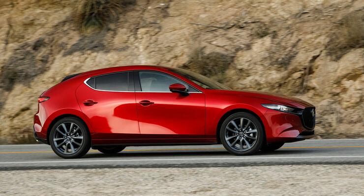 Mazda 3 Skyactive G (2019), Karosserie, Exterior