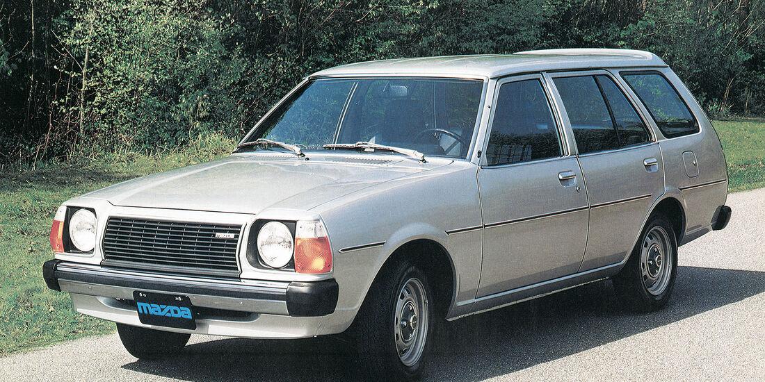Mazda 323 Historie