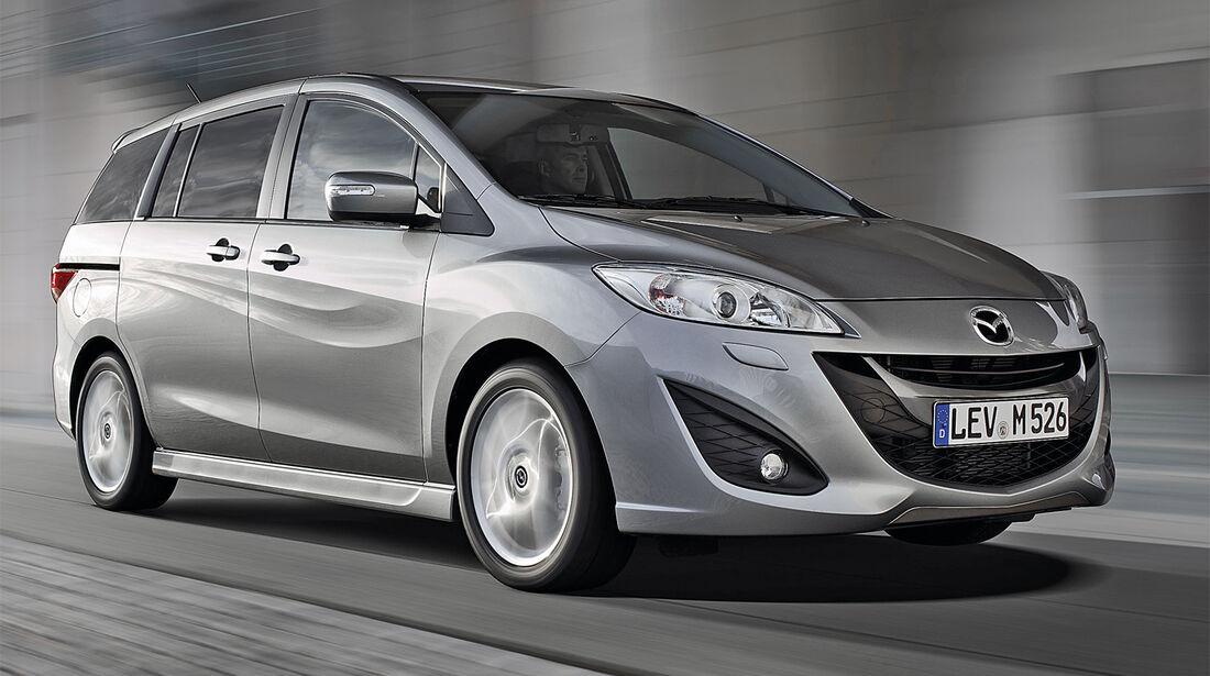 Mazda 5, Seitenansicht