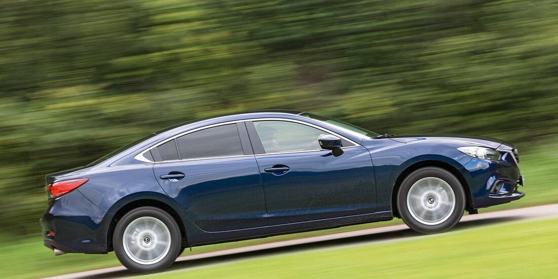 Mazda 6 2.0i, Seitenansicht
