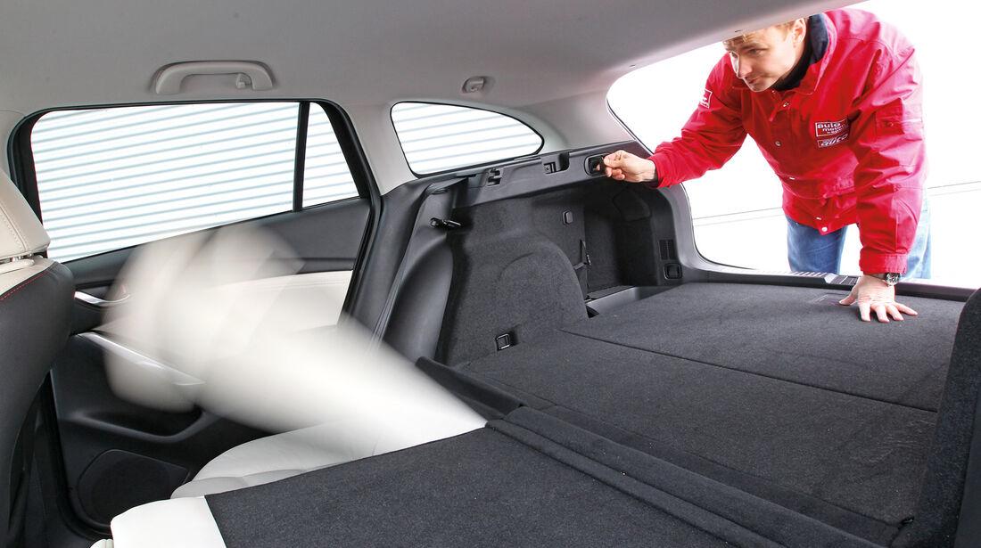 Mazda 6 Kombi 2.2i D, Kofferraum, Ladefläche