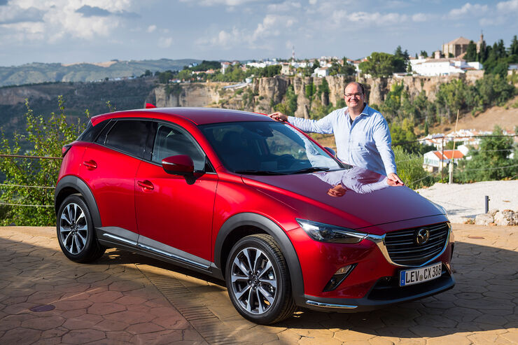 mazda cx-3 facelift (2018): daten, fahrbericht, preis - auto motor