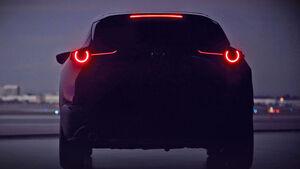 Mazda CX-4 Teaser Genf 2019