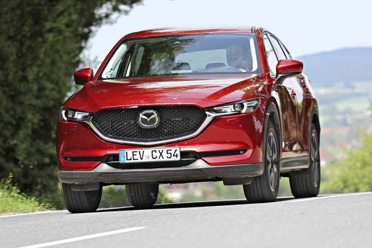 Mazda CX-5 D 175 AWD, Exterieur