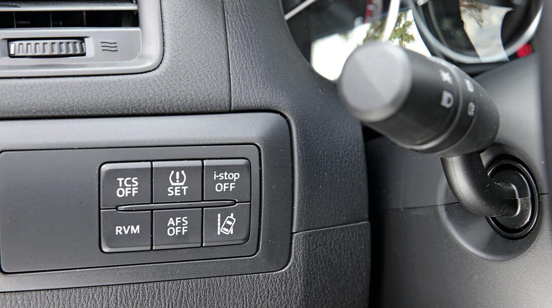 Mazda CX-5 Skyactiv-D 4WD Centerline, Bedienelemente