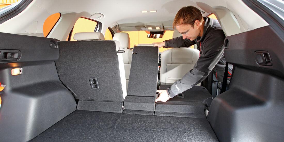 Mazda  CX-5 Skyaktiv-D AWD Sports-Line, Ladefläche, Sitz umklappen