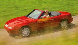 Mazda MX-5 1.6/1.8 Typ NA, Seitenansicht