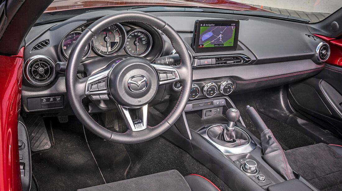 Mazda MX-5, Interieur