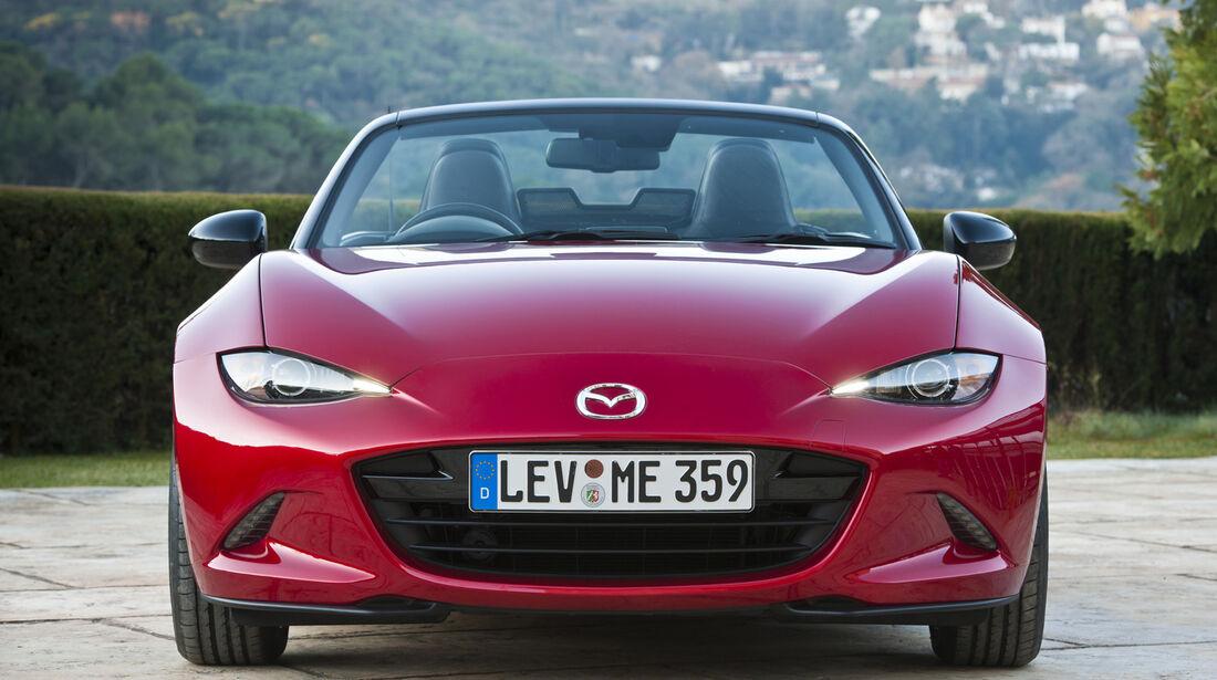 Mazda MX-5, ams, Fahrbericht, Front