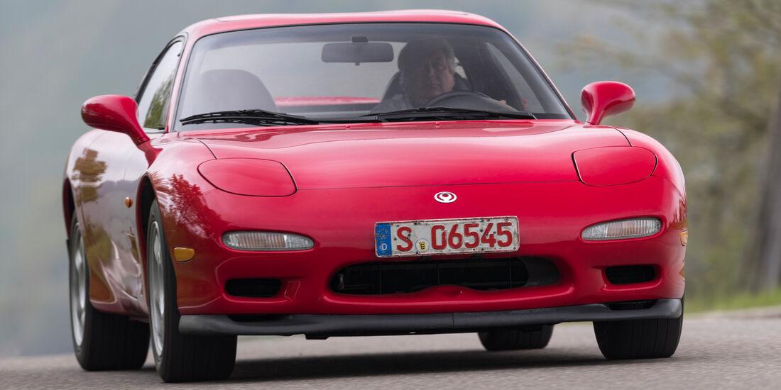 Mazda RX-7, Frontansicht