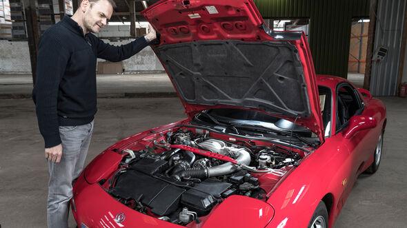 Mazda RX-7, Motor