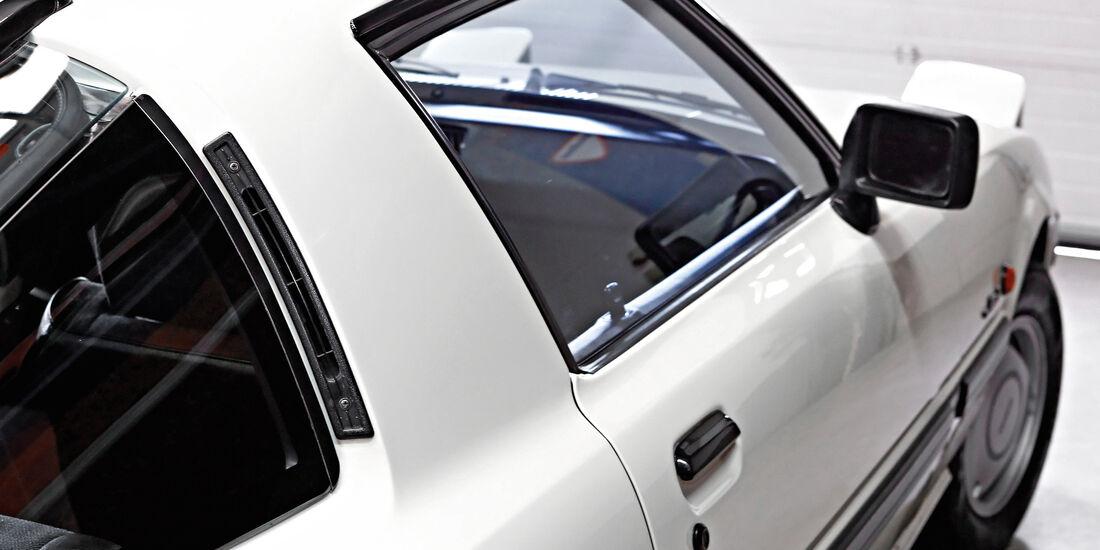 Mazda RX-7, Seitenspiegel