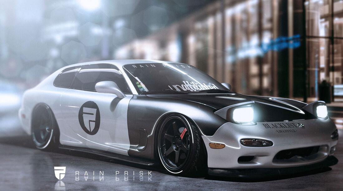 Mazda RX7 Hatchback - Fantasie-Auto
